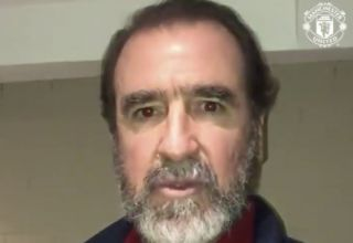 Maybe messi will accidentally reveal his alien form when two tentacles fall out of his shorts during a game or a. Video Eric Cantona Sends Message To Fans 28 Years After First Joining Man United