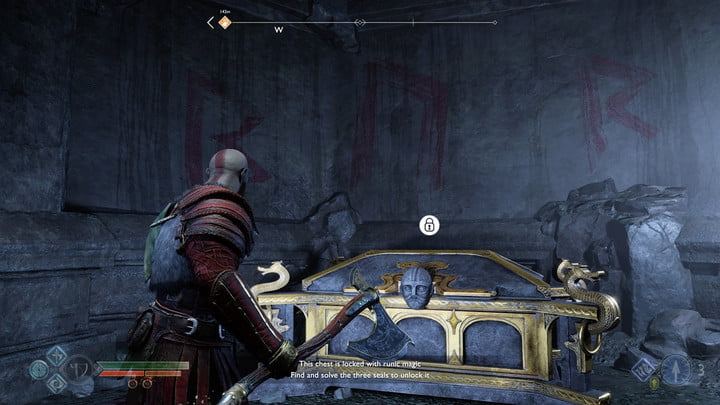 god of war nornir chests collectibles guide 14 inside the mountain