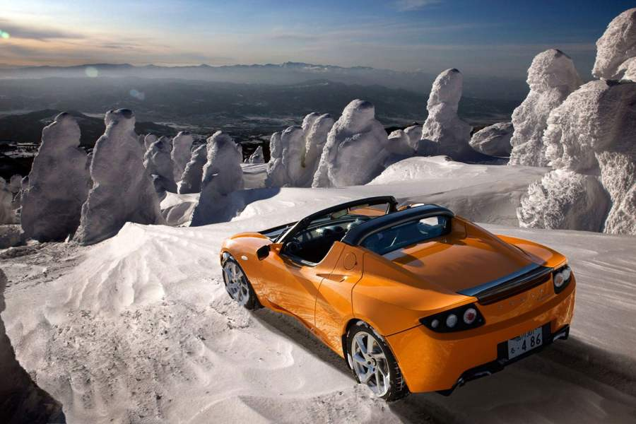 How Tesla Reinvented the Car As We Know It   Digital Trends 2012 Tesla Roadster
