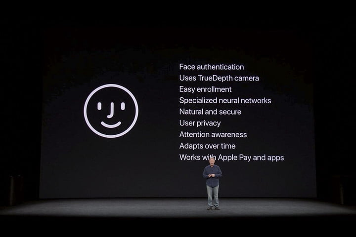 Anuncio de Apple faceID para el iPhone X