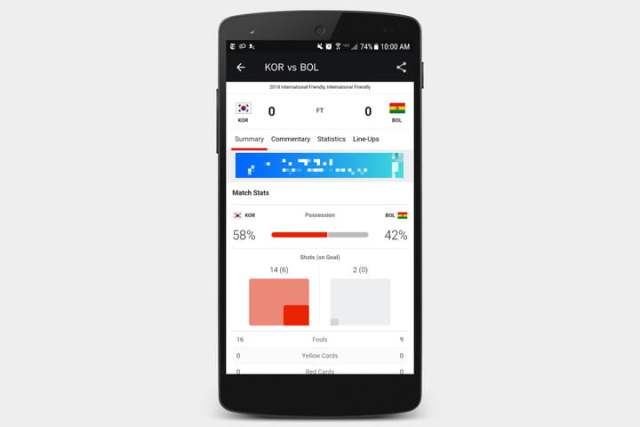 best apps for 2018 world cup espn