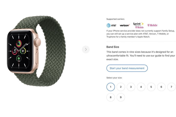 How to Measure Your Wrist to Get a Solo Loop Apple Watch