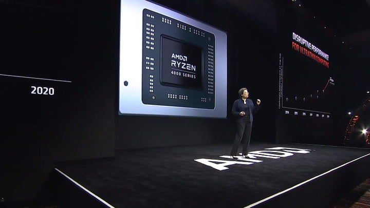 AMD vs Intel CES 2020 ryzen4000 03