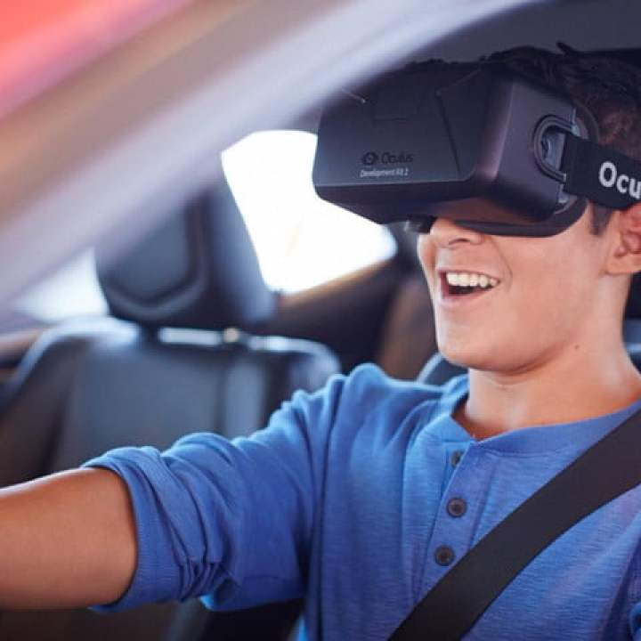 virtual reality applications oculus driving