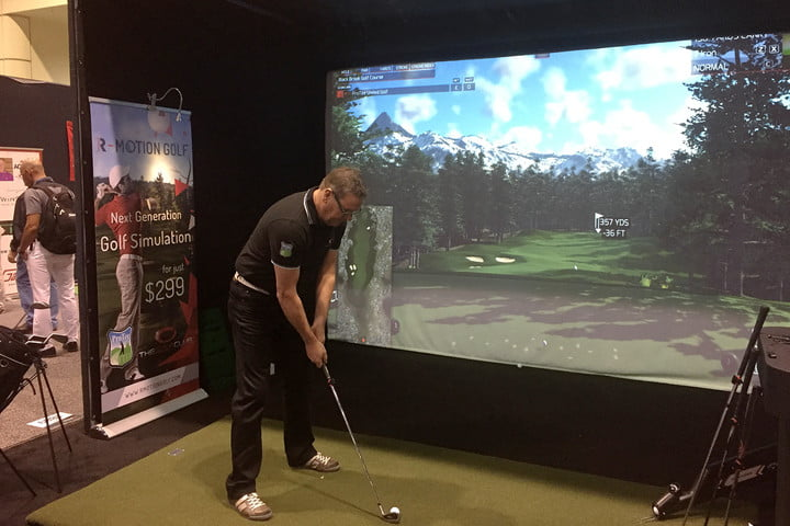 R-Motion Golf Hands On