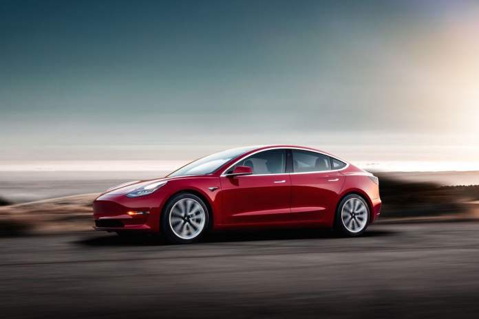 elusive tesla model 3 standard range helps canadian tax incentive