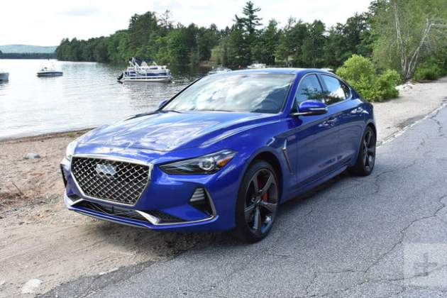 2019 Genesis G70 First Drive Review   Digital Trends 2019 Genesis G70 review