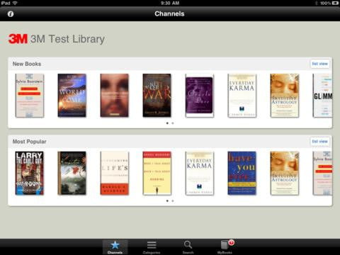 3M eBook Lending App for iPad