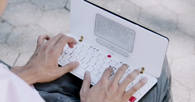 Freewrite Traveler Is A Portable Writing Device For The