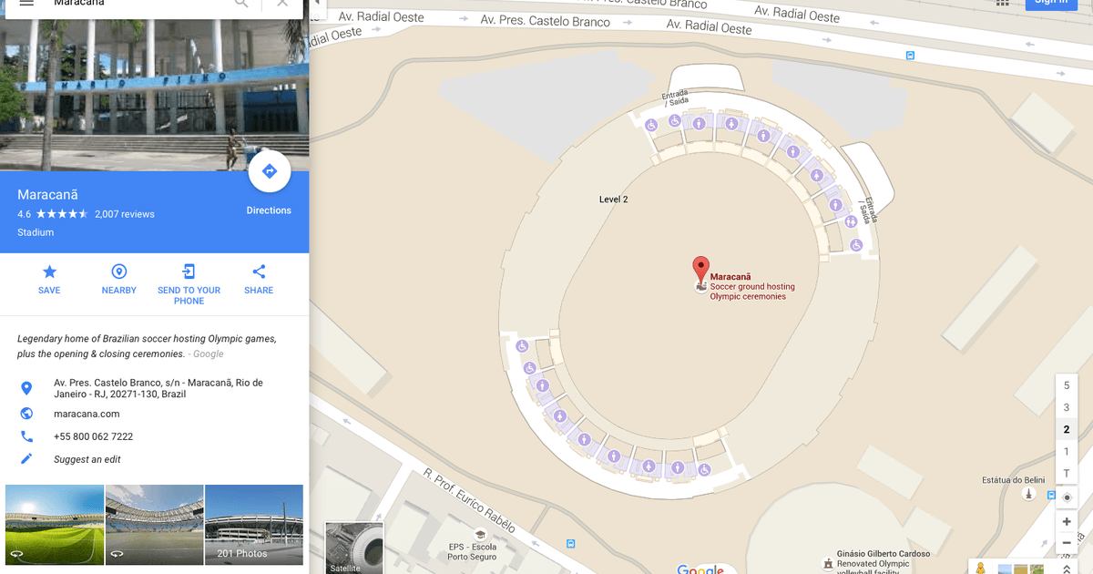 Explore Rio Olympic venues with Google Maps   Digital Trends