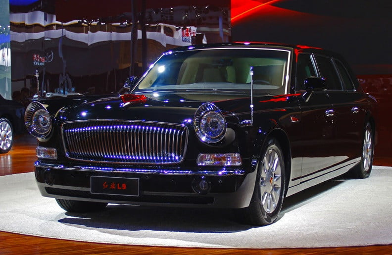 Hongqi L9 The 1 Million Chinese Luxury Car With The Face