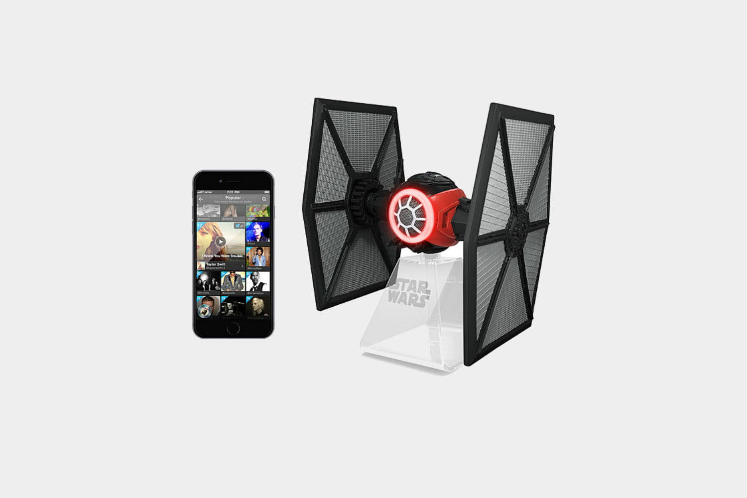 Check Out the Most Amazing Star Wars Home Decor on This Planet     best star wars home decor merchandise merch bluetooth tie fighter