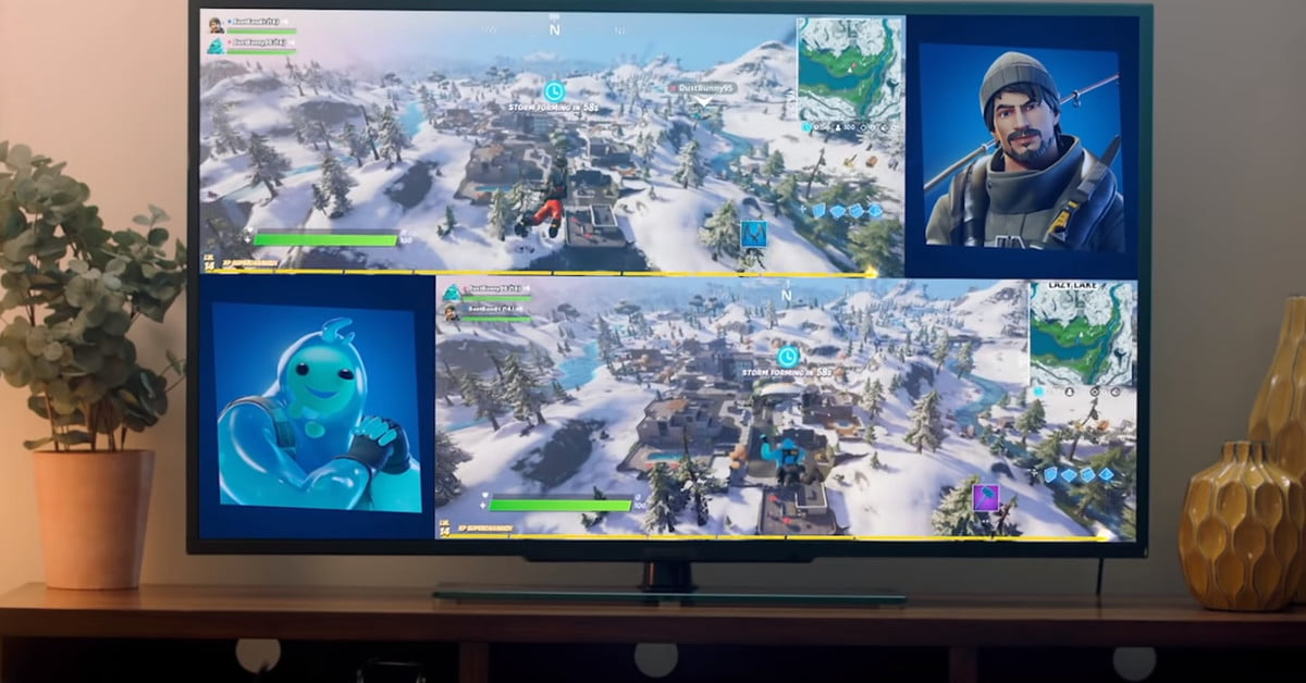 How to Play Split-Screen in Fortnite - CamRojud