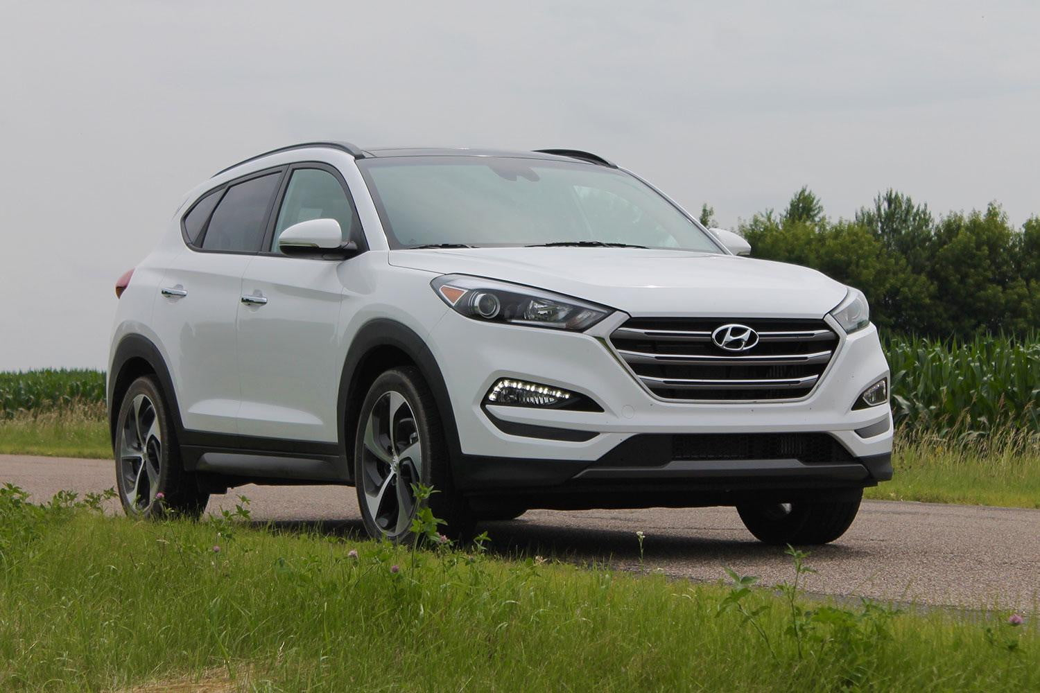 2016 Hyundai Tucson Crossover Review Digital Trends