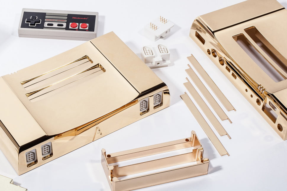 Analogue NT 24k Gold NES