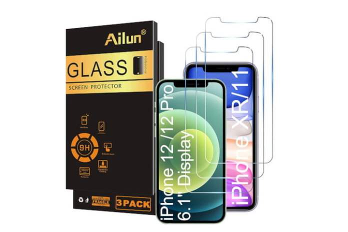 Ailun Glass Screen Protector for iPhone 12