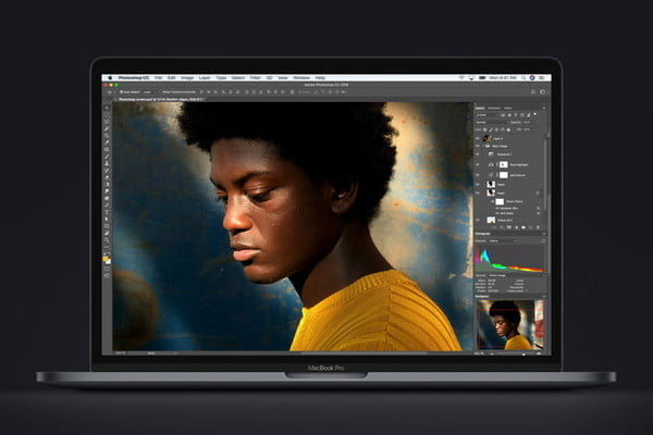 nuevo macbook pro 8th generation cpu photoshop