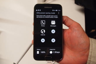 Galaxy S5's Ultra Power Saving Mode