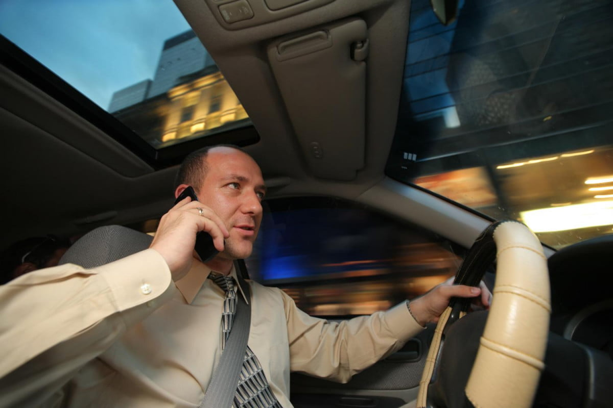 Hold The Phone New Study Says Talking And Driving Not As