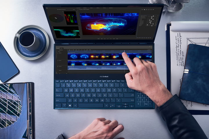 Asus zenbook pro duo computex ux581 edición de video