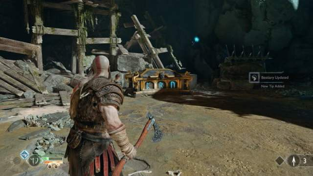 god of war nornir chests collectibles guide 2 temple