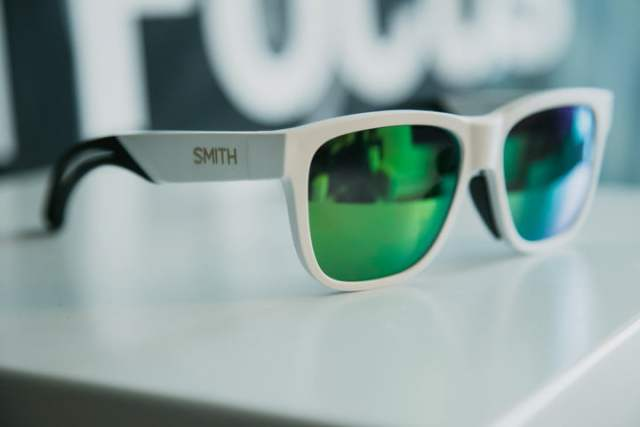 smith lowdown focus smart glasses hands on ces  powered by muse