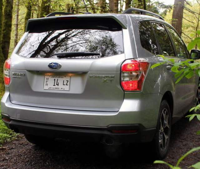 2015 Subaur Forester Xt Rear Right