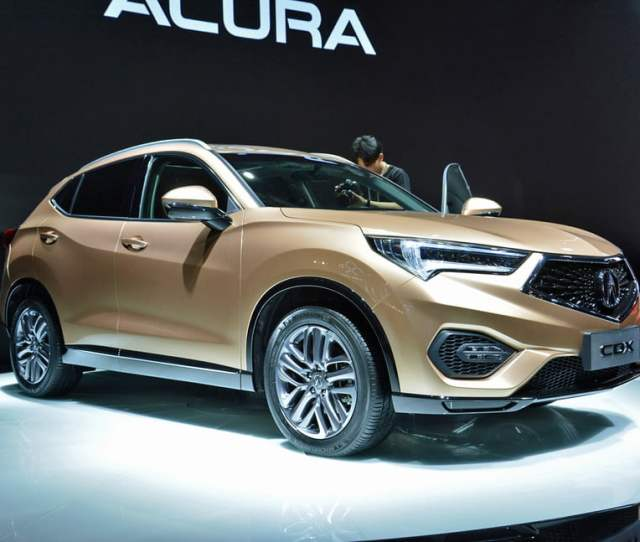 Acura Cdx Revealed At Beijing Auto Show