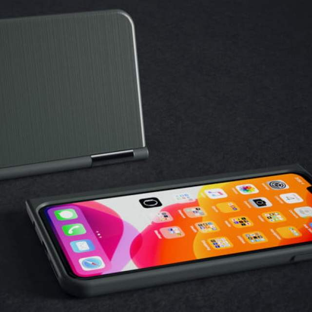 the castaway adds a chromium powered second screen to your smartphone plastic