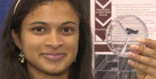 18 Year Old Girl Invents 30 Second Cell Phone Charging
