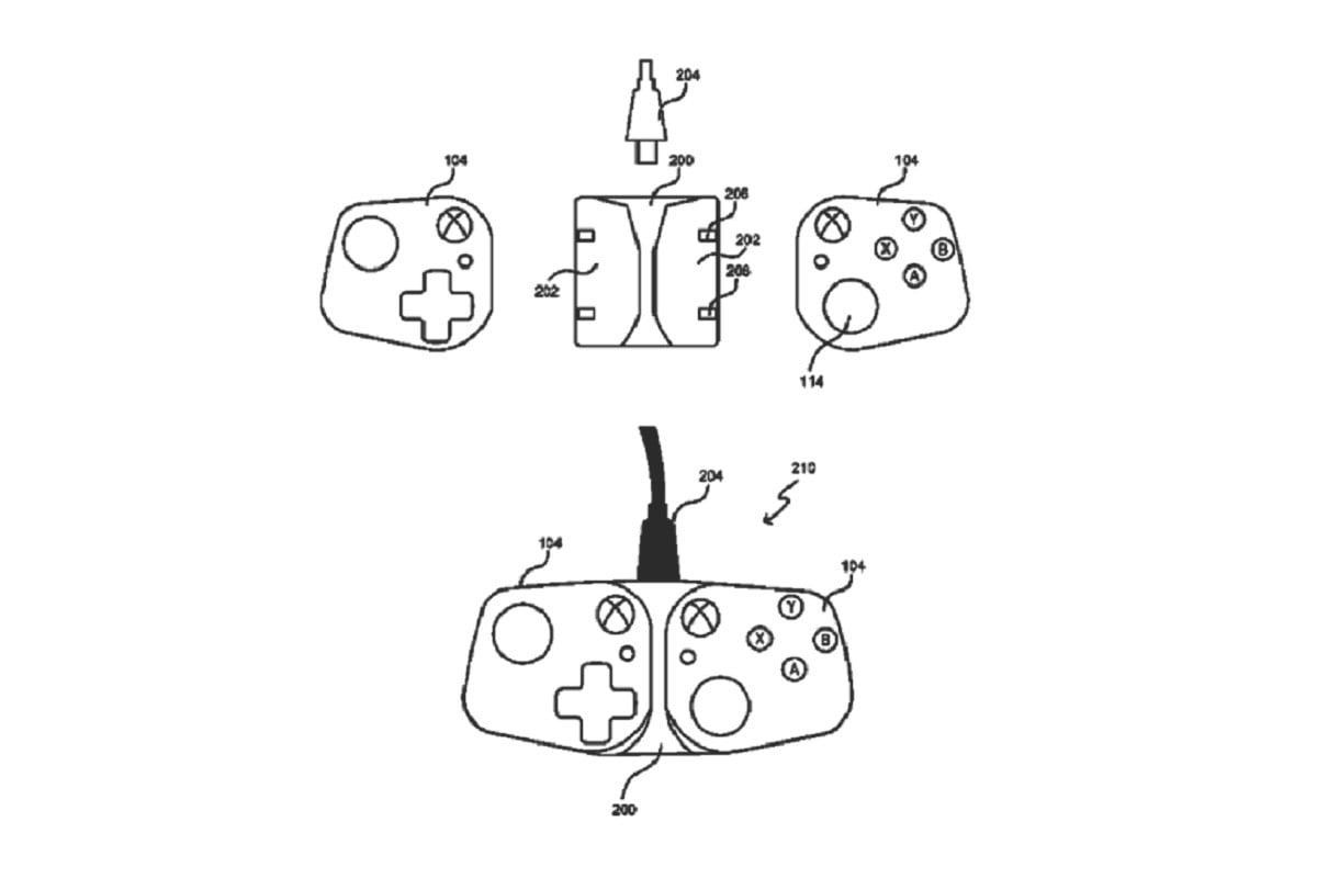 Microsoft Patent Reveals Controllers To Transform
