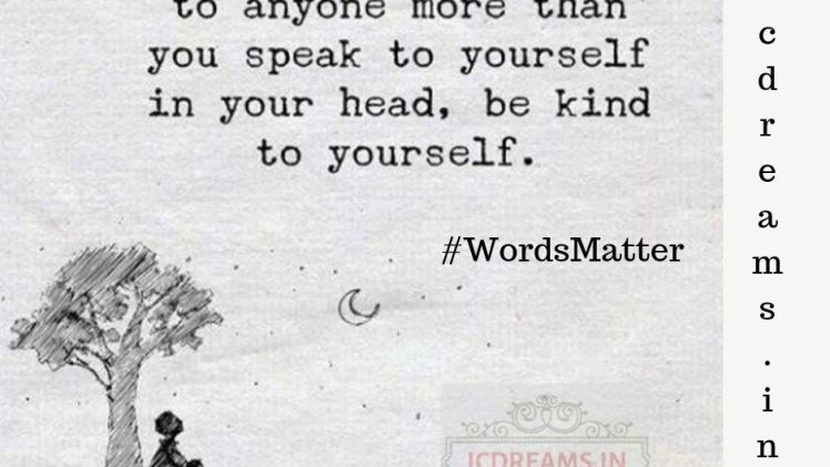 It's not that time of the year #wordsmatter #icdreams