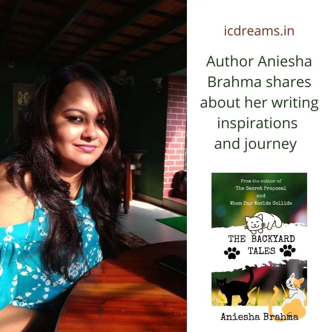 Author Aniesha Brahma