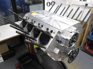 417ci Nitro Donovan hemi build