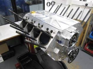 417ci Nitro Donovan hemi build