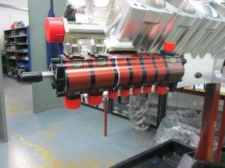 7-Stage turbo custom oil pump
