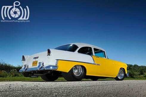 I.C.E.-supplied 555ci Big block Chevrolet