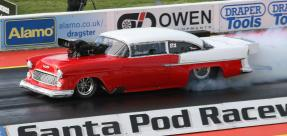 I.C.E.-built 526ci blown pro mod hemi