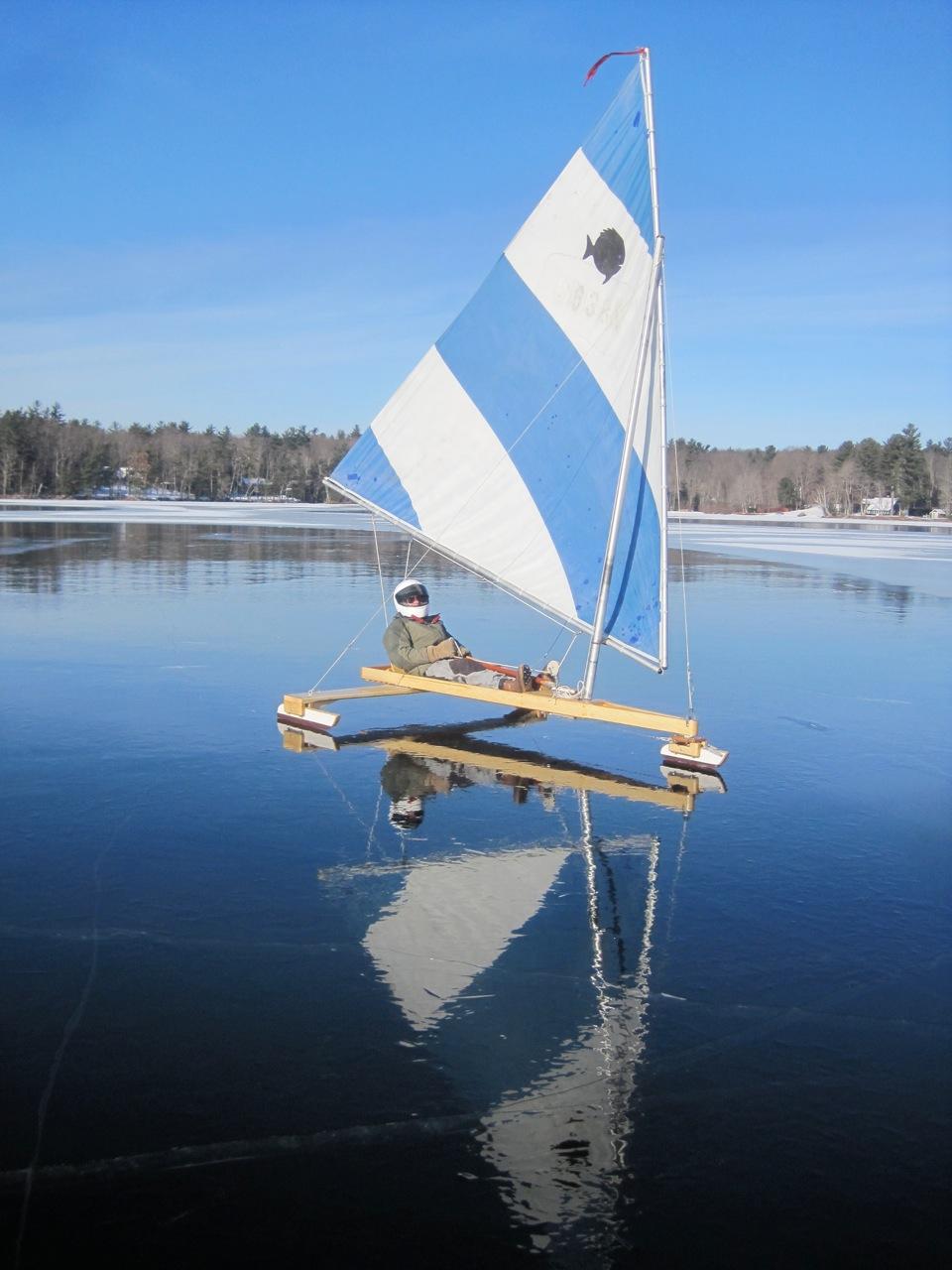 Chickawaukie Ice Boat Club Maine Ice Boat Enthusiasts