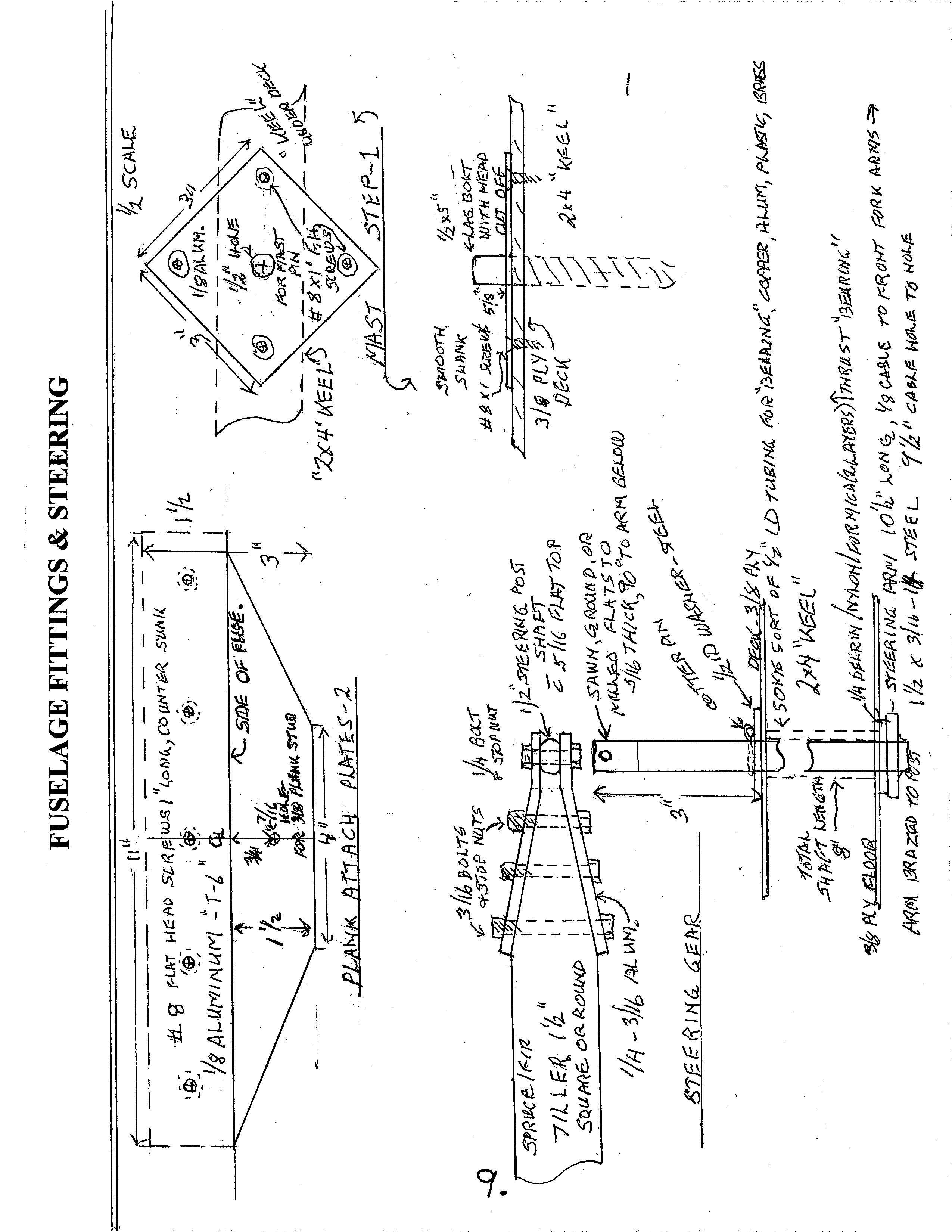 Laser Sailboat Schematic