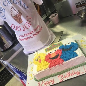 Sesame Street Ice Cream Cake in Delaware