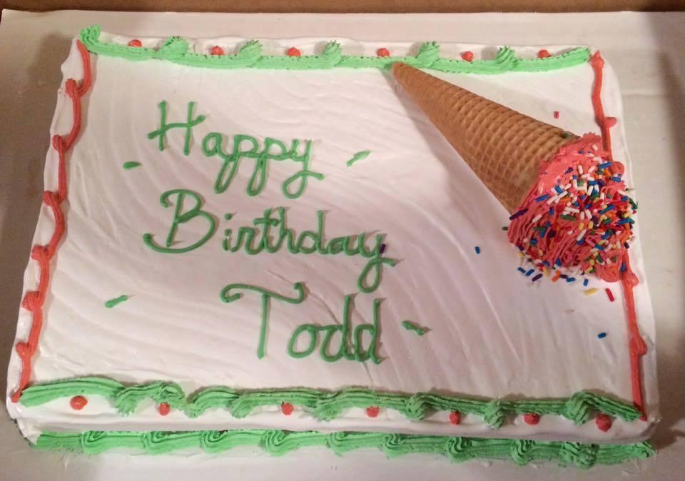 Ice Cream Cone Cake in DE