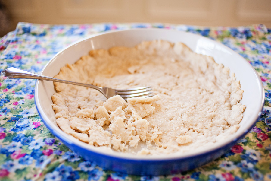 Pie Crust for Ice Cream by Ice Cream Inspiration. Do you have trouble making pie crust? I do. Pie crust is my nemesis. But I found a solution, and it involves ice cream.