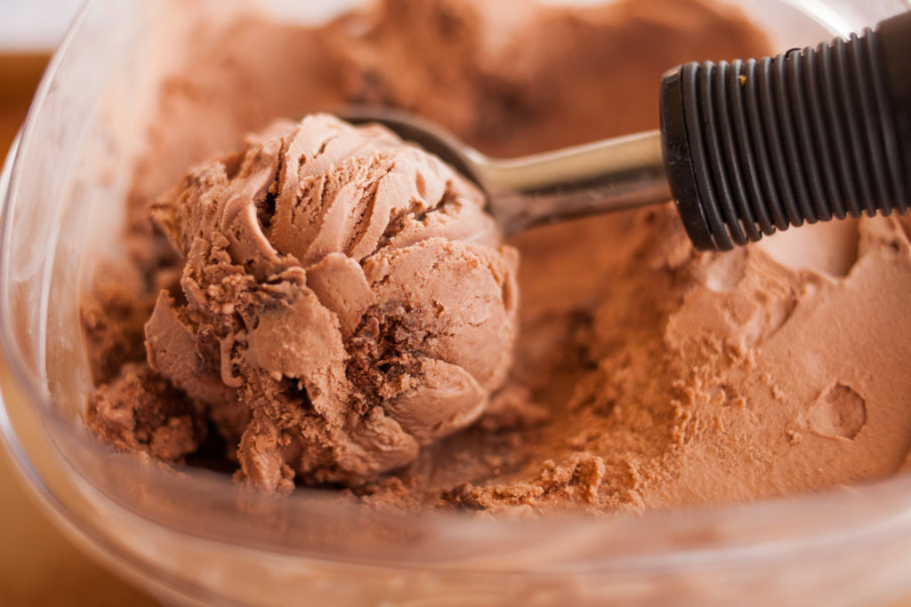 Chocolate Brownie Chunk Ice Cream by Ice Cream Inspiration. Chocolate lovers, rejoice! Now you can combine two of your favorite indulgences--chocolate brownies and chocolate ice cream--into one amazing dessert!