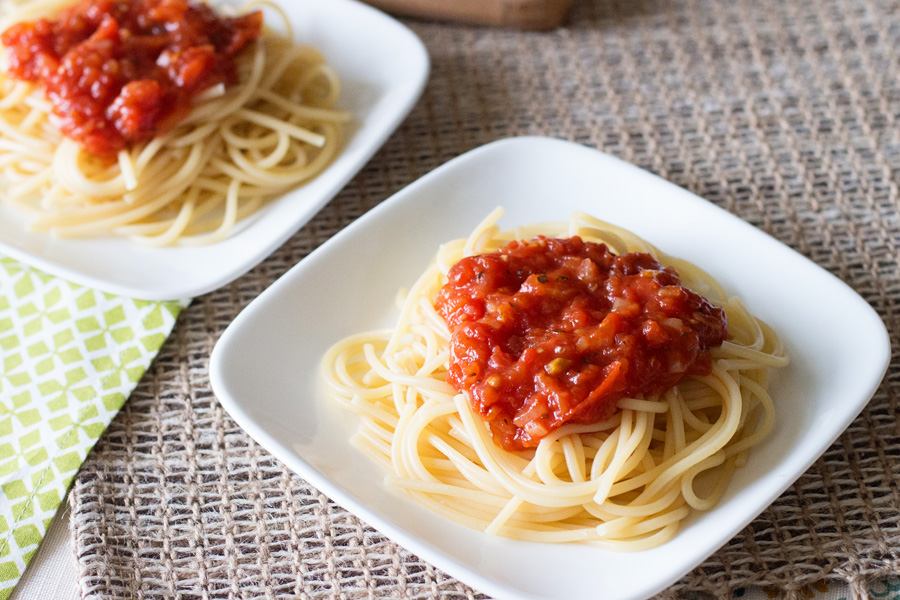 Perfect Pasta Sauce by Ice Cream Inspiration. Make some now!