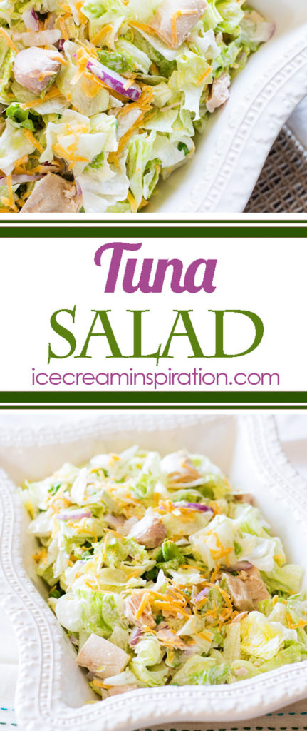 The tuna salad to end all tuna salads. This is not the squishy stuff you put on bread. This is an actual salad. And it is uncommonly delicious.