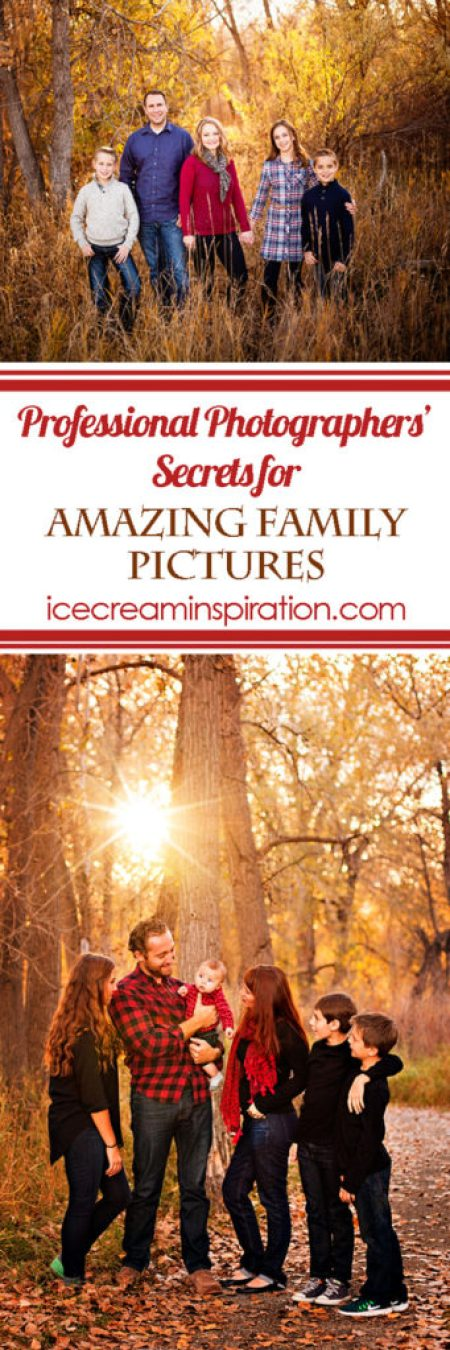 Want to know the secrets professional photographers use to get those amazing family pictures? Watch this Facebook Live series that will teach you all about how to take family pictures that you will love! Tips for family pictures, how to take your own family pictures, posing for family pictures.