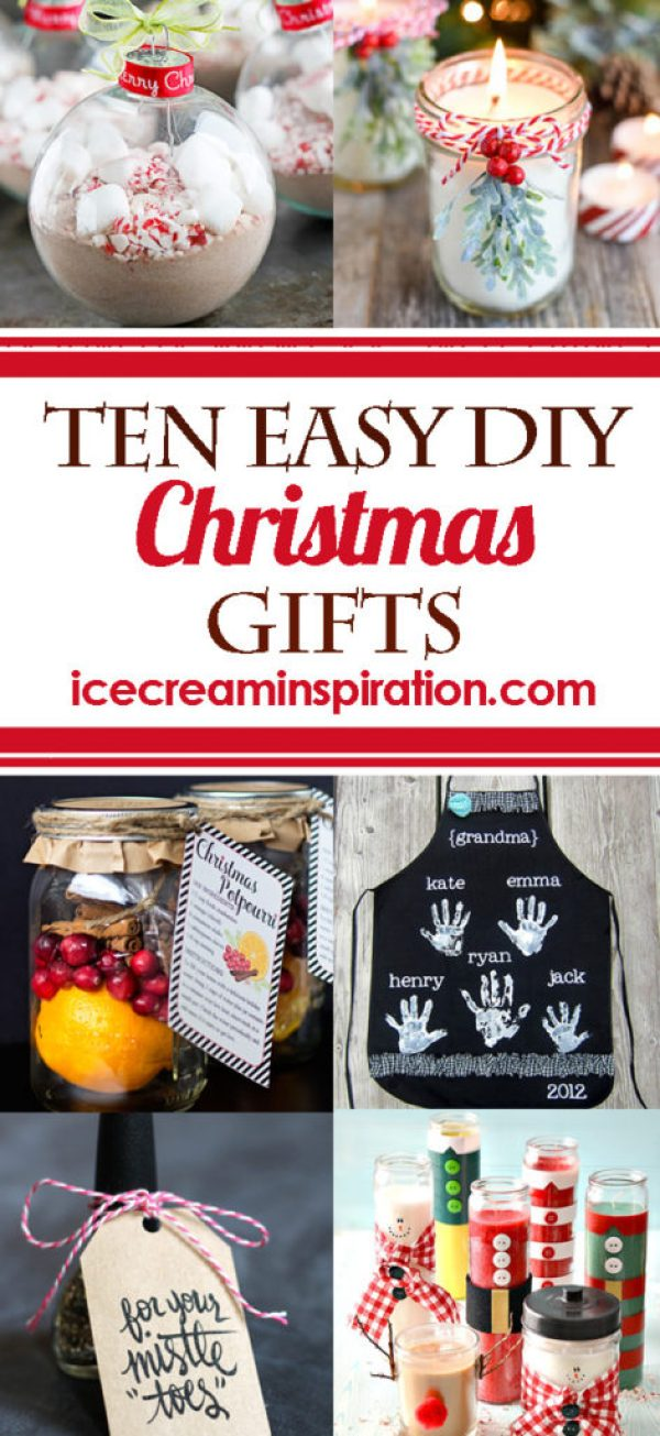 10 Easy Diy Christmas Gifts Beautiful Life And Home
