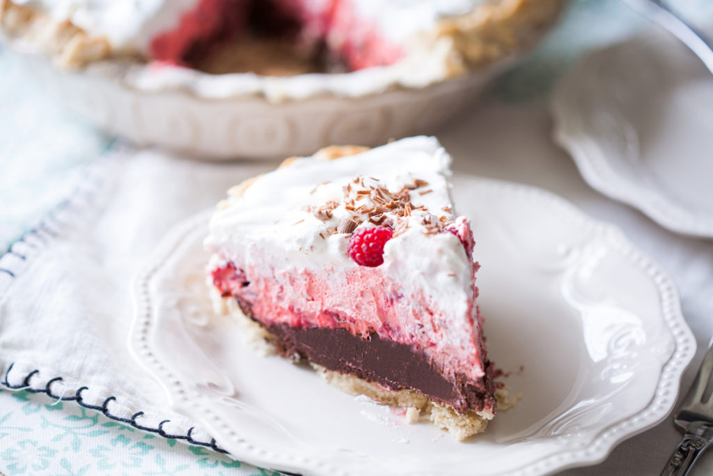 Chocolate Raspberry Cream Pie | Best Pie Recipes Ever: Perfect For Christmas And Special Holidays