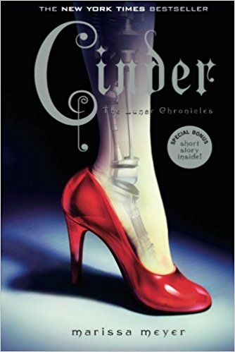 The Cinder Series by Marissa Meyer is the perfect dystopian fairy tale series. You've never seen Cinderella, Red, Rapunzel, and Show White like this!